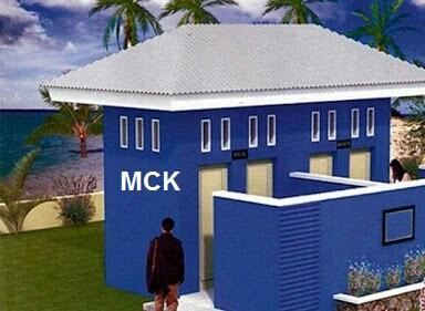 Pembangunan MCK di Kp. Kelebuhan Bulan Desa Babakan Kec. Ciparay Kab. Bandung