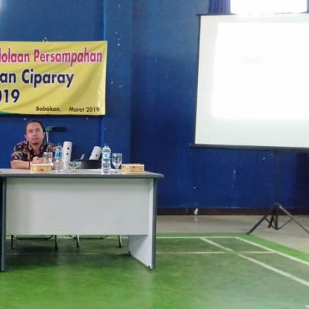 Sosialisasi Kebijakan Persampahan Tingkat Kecamatan Ciparay Kab. Bandung