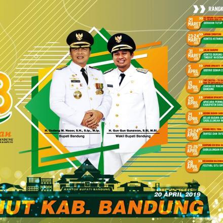 Hari Jadi Kabupaten Bandung ke-378 (link download Baligho , Spanduk dan Umbul-umbul)